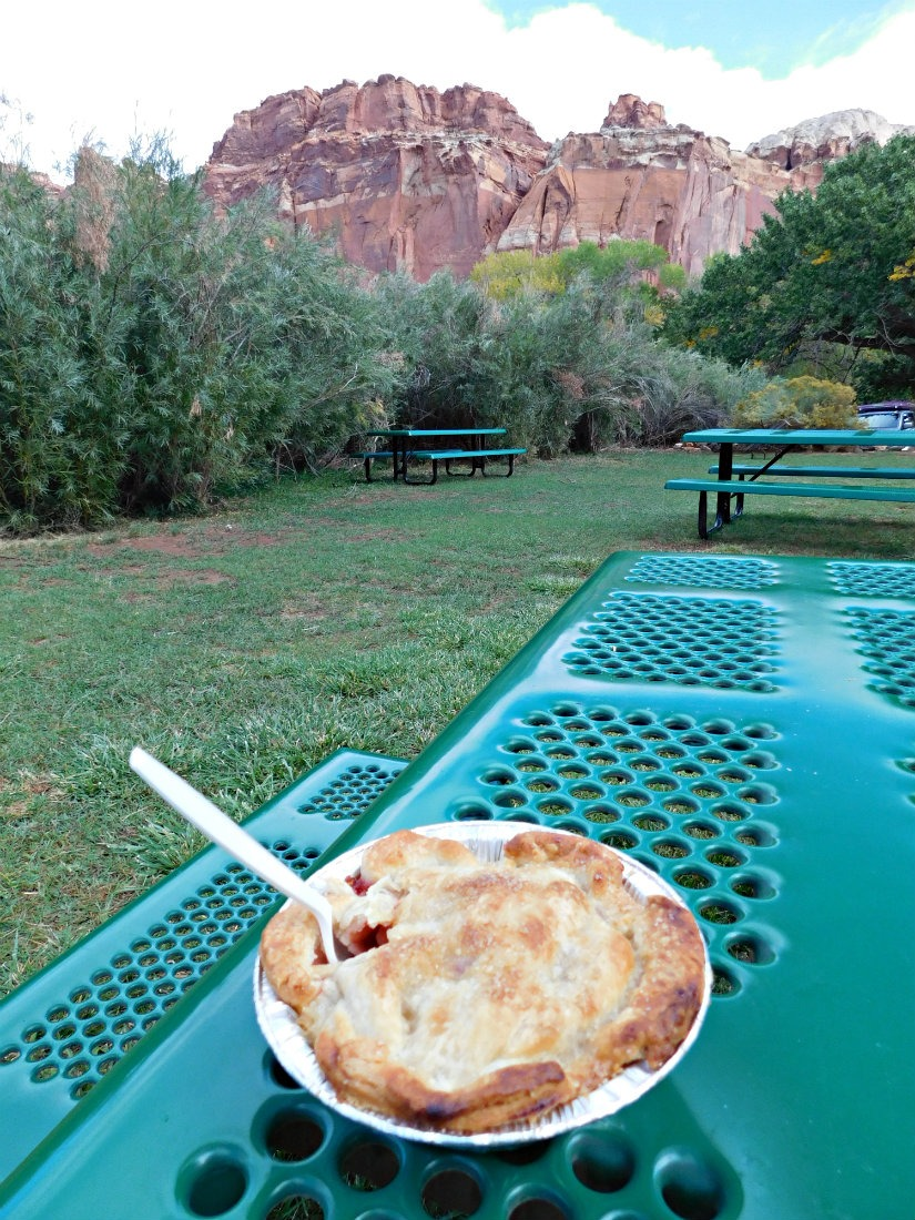 Amazing berry pie at Gifford Homestead in Fruita, Capitol Reef National Park