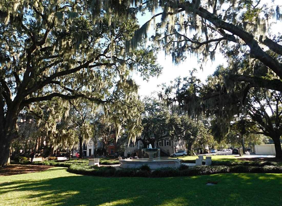 I loved the beautiful and historic squares in Savannah, Georgia