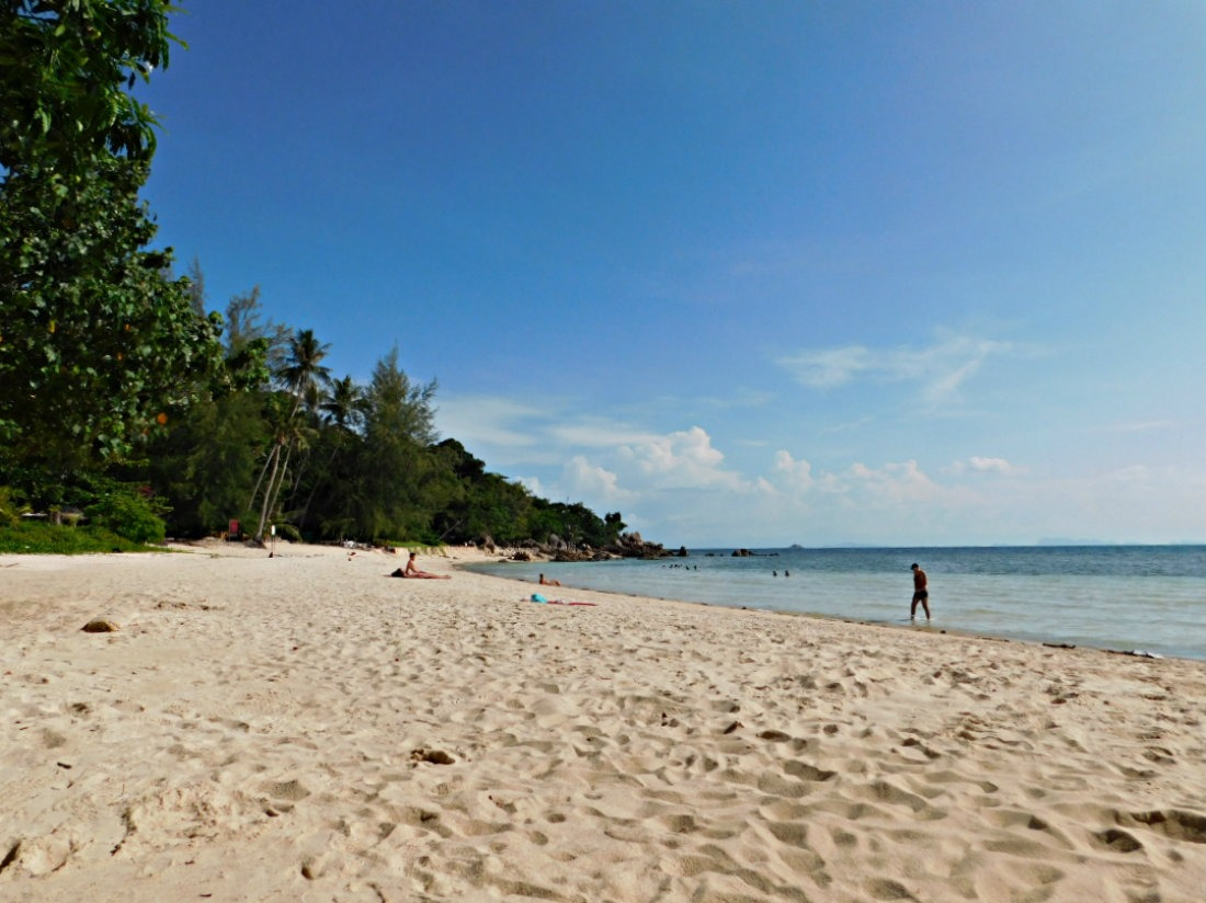 Thong Nai Pan Noi beach on Koh Phangan in Thailand