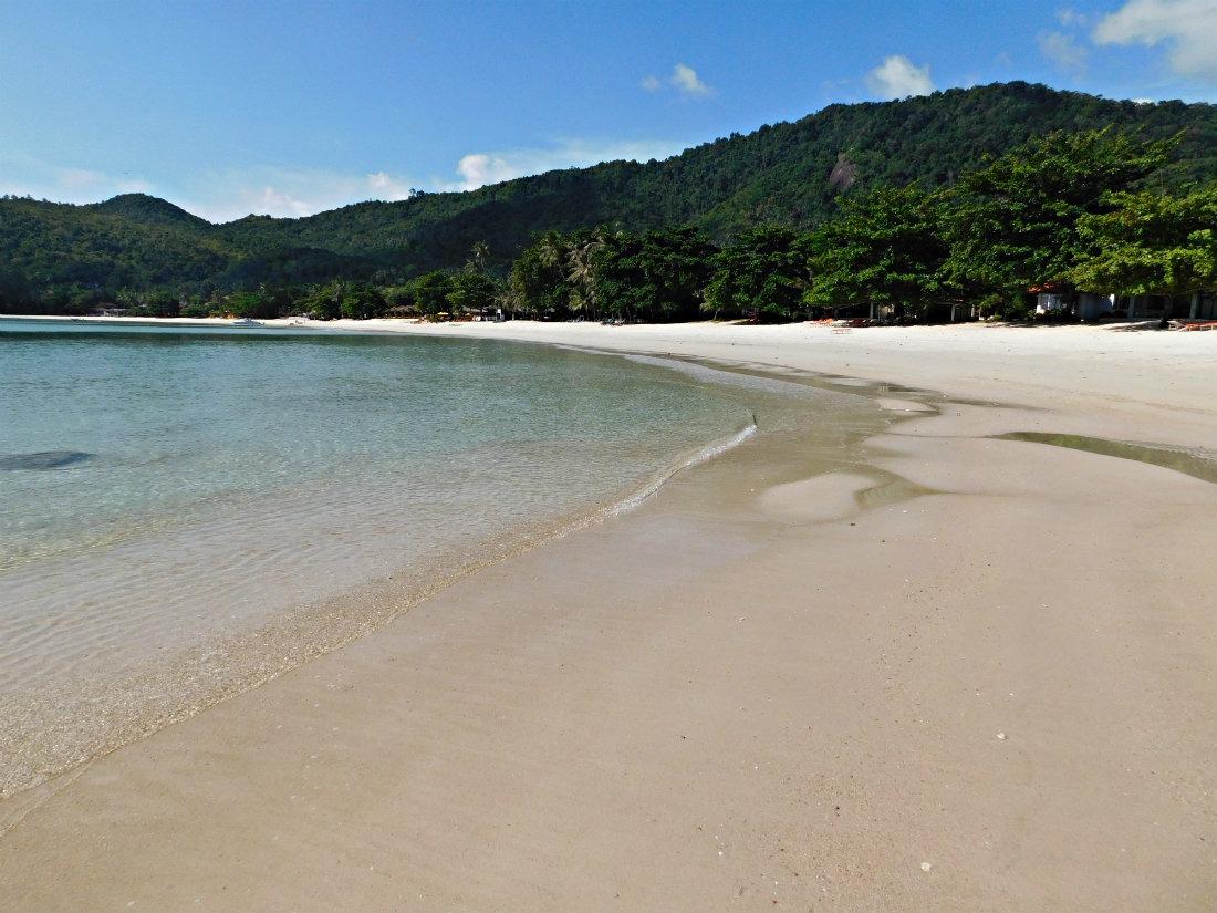 Deserted Thong Nai Pan Yai beach on Koh Phangan, Thailand