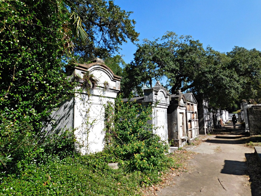 Lafayette Cemetery in the Garden District of New Orleans