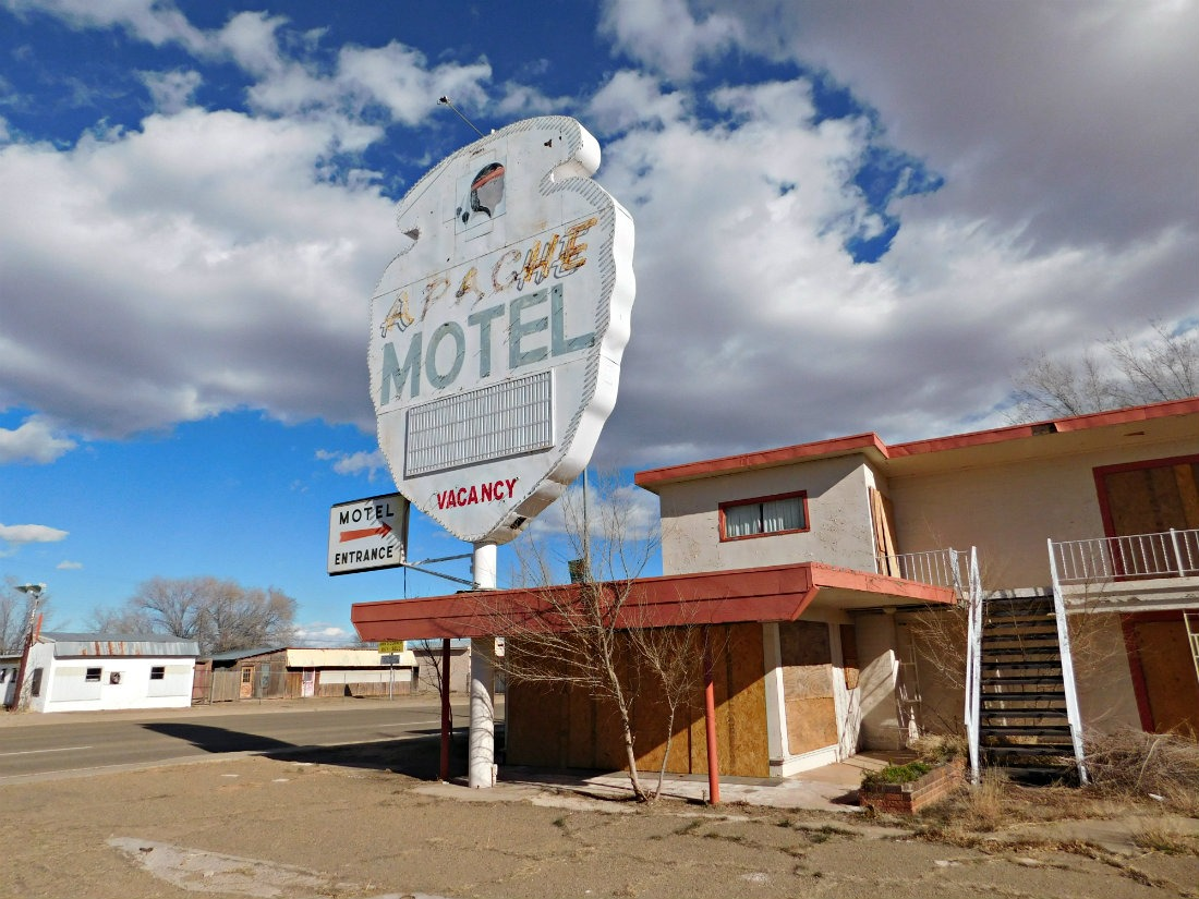 Driving Route 66 was a highlight of month forty two of Digital Nomad Life