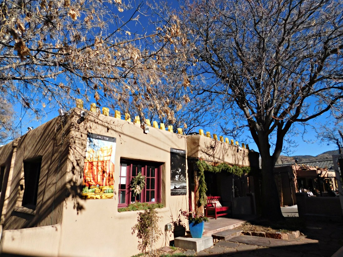 Revisiting Canyon Road in Santa Fe was one of highlights of month forty two of Digital Nomad Life