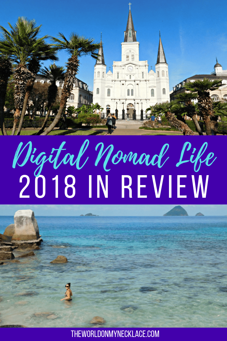 Digital Nomad Life: 2018 in Review