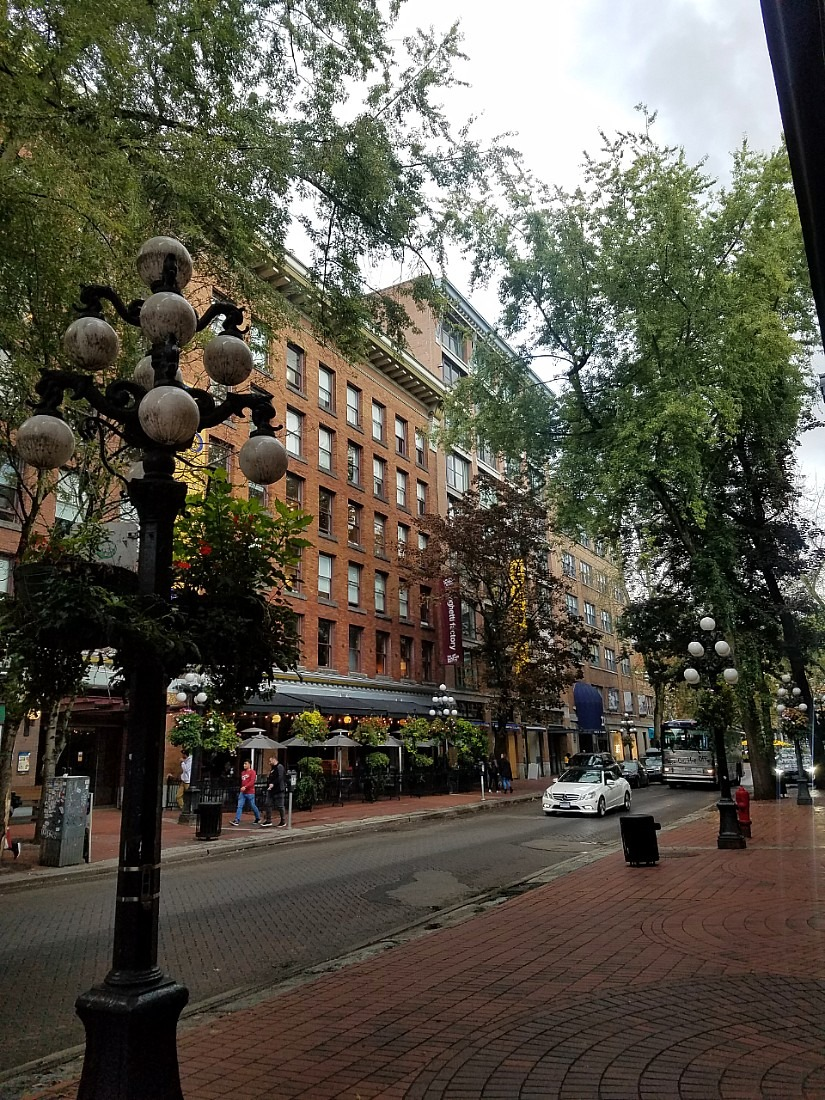Walk around Gastown during your Vancouver 4 day itinerary