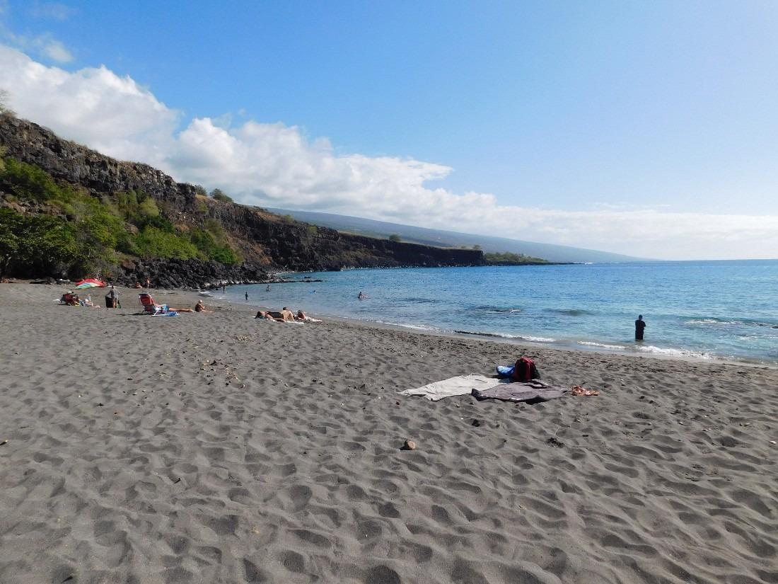 Ho'okena Beach on the Big Island of Hawaii