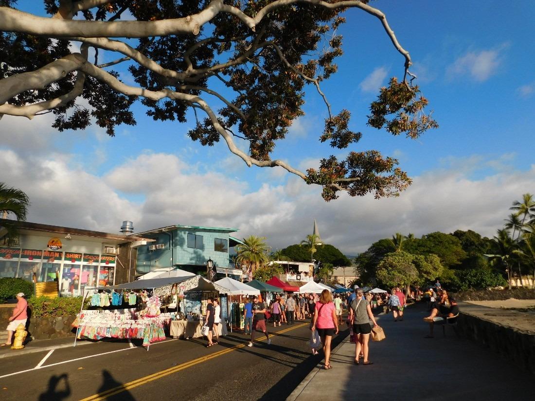 Kailua Stroll Market on the Big Island of Hawaii