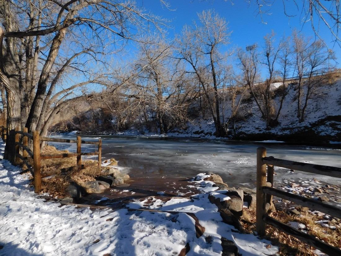 Snowy Littleton in Colorado