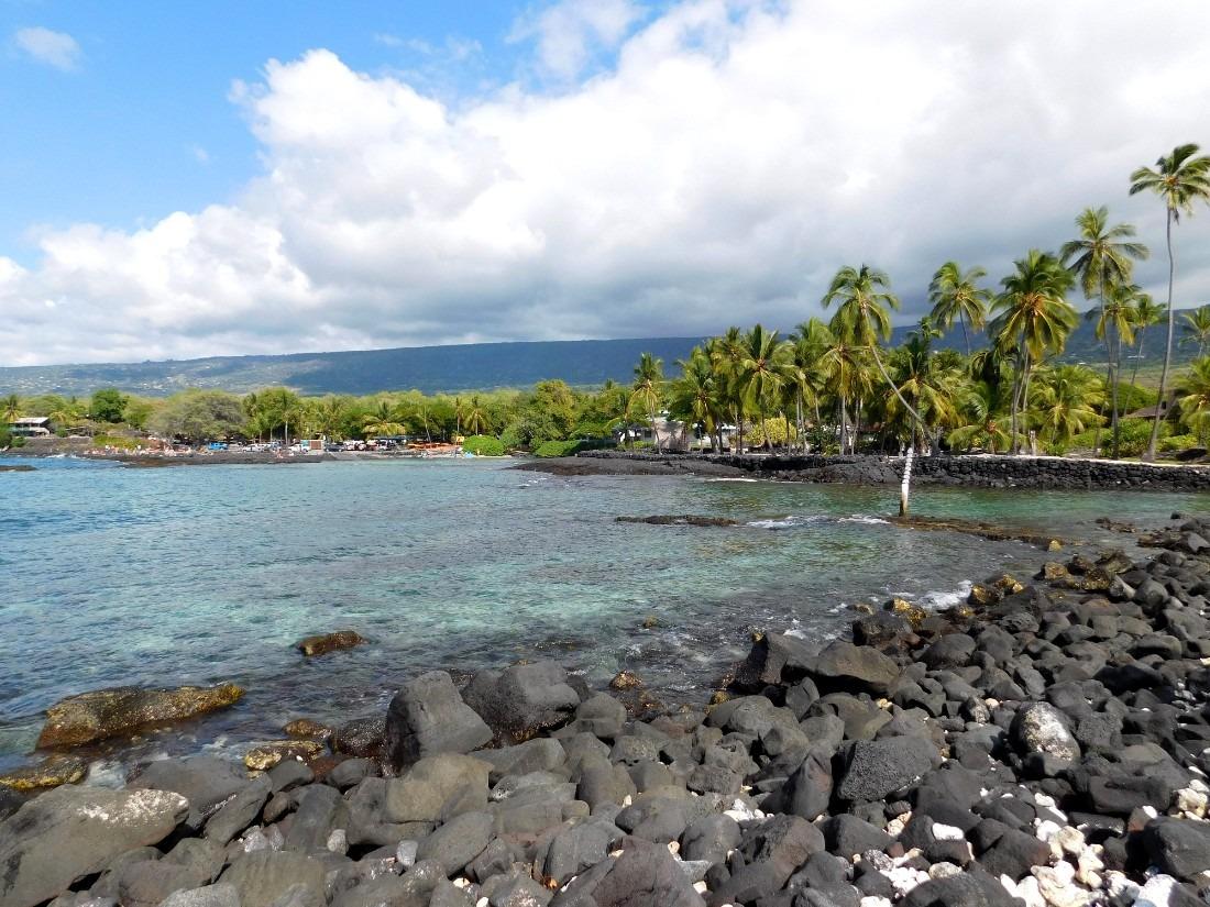 Puʻuhonua o Hōnaunau National Historical Park on Big Island of Hawaii