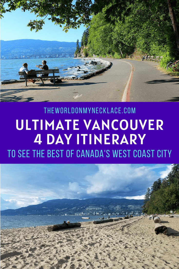 Best Itinerary for Vancouver in 4 Days