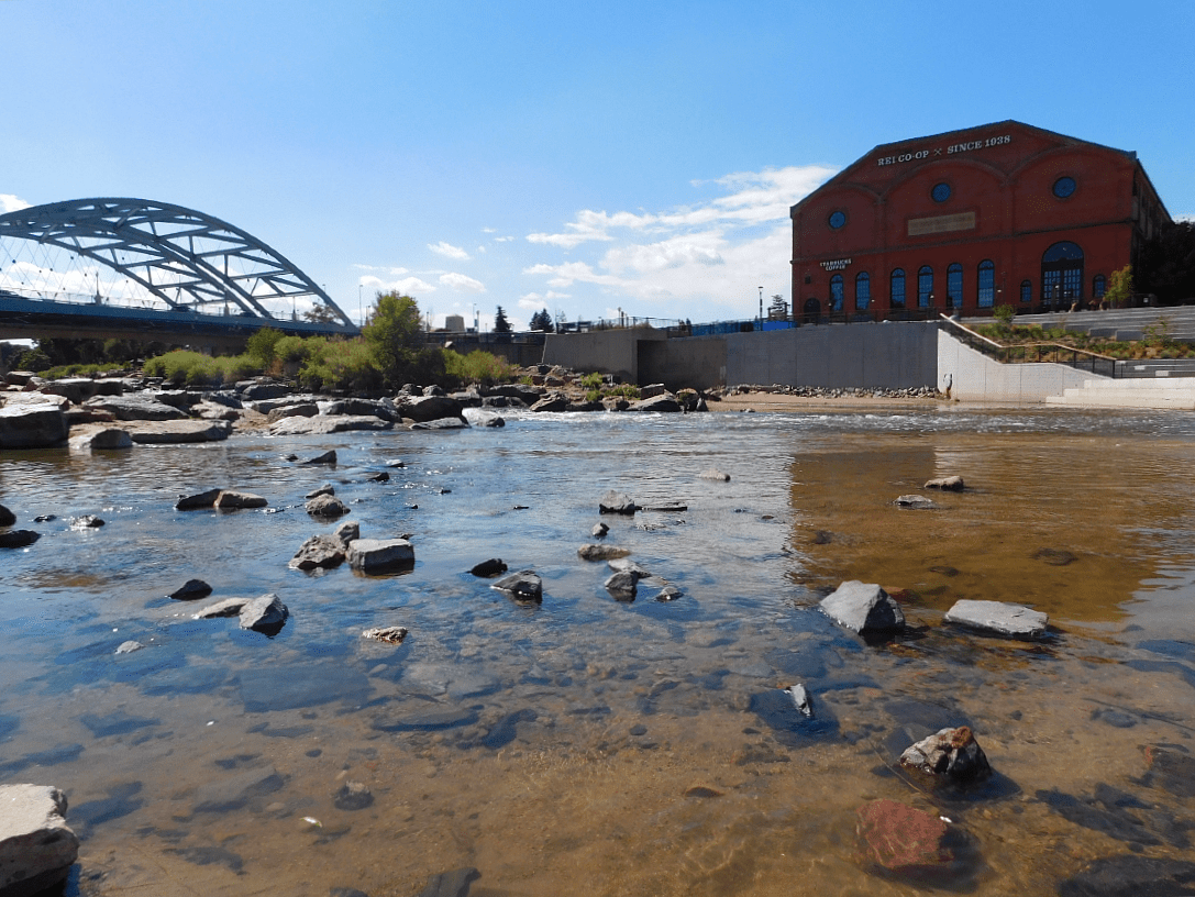 Confluence Park in LoDo