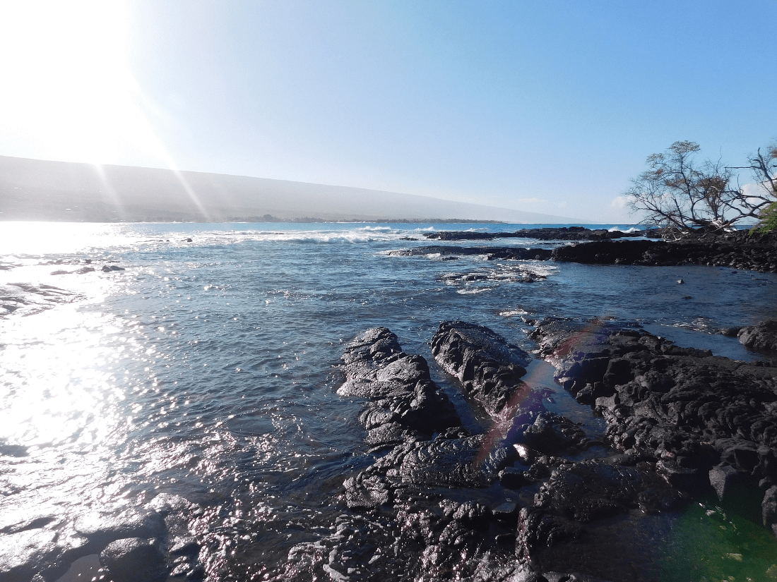 Kealakekua Bay - the end of the Captain Cook Monument trail