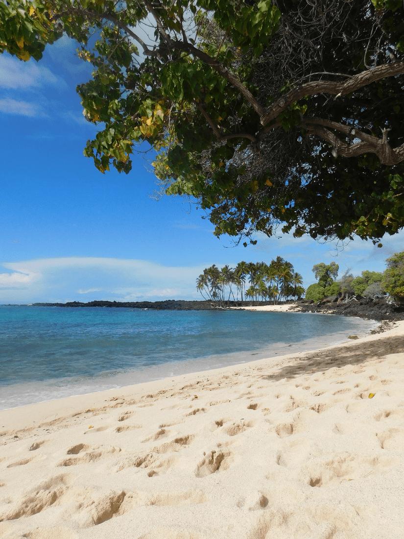 Mahai'ula Beach on the Big Island of Hawaii