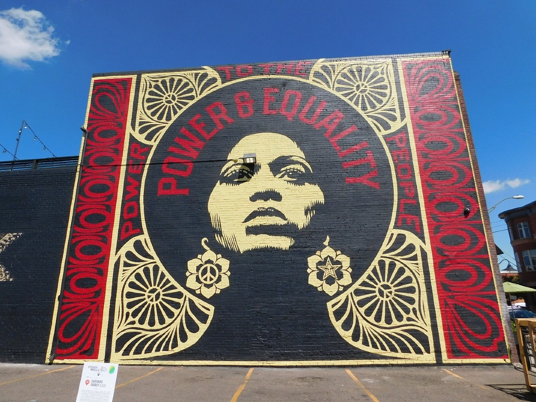 Check out the street art in RiNo as part of your Denver Itinerary