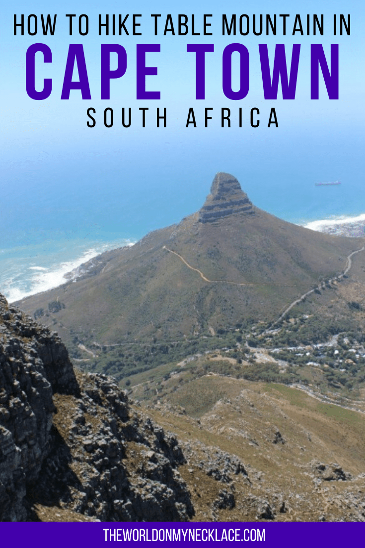 How to Hike Table Mountain in Cape Town