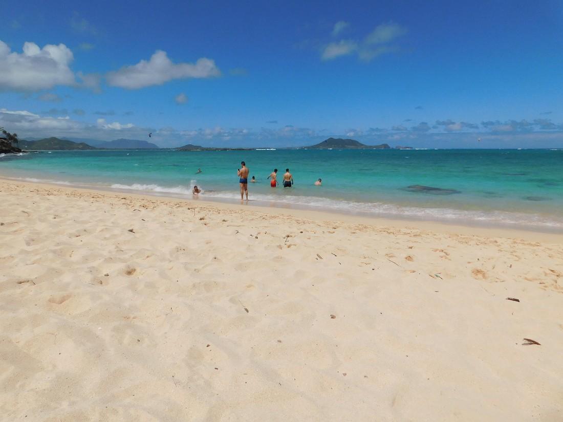 Lanikai Beach on the East Coast of Oahu