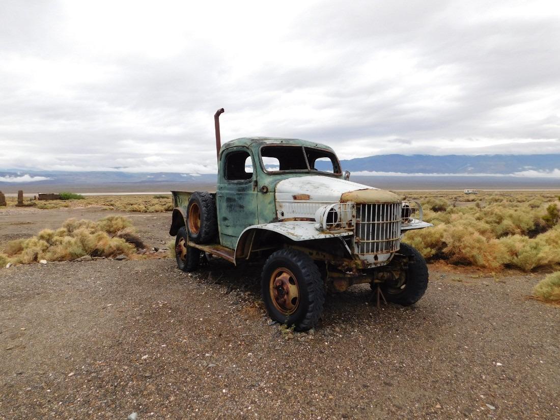 Charles Manson's truck in Ballarat Ghost Town, California