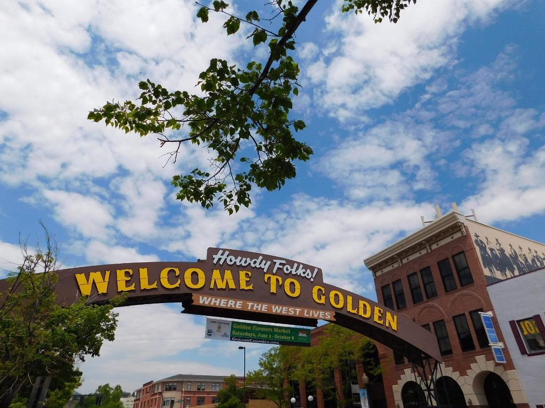 Downtown Golden, Colorado