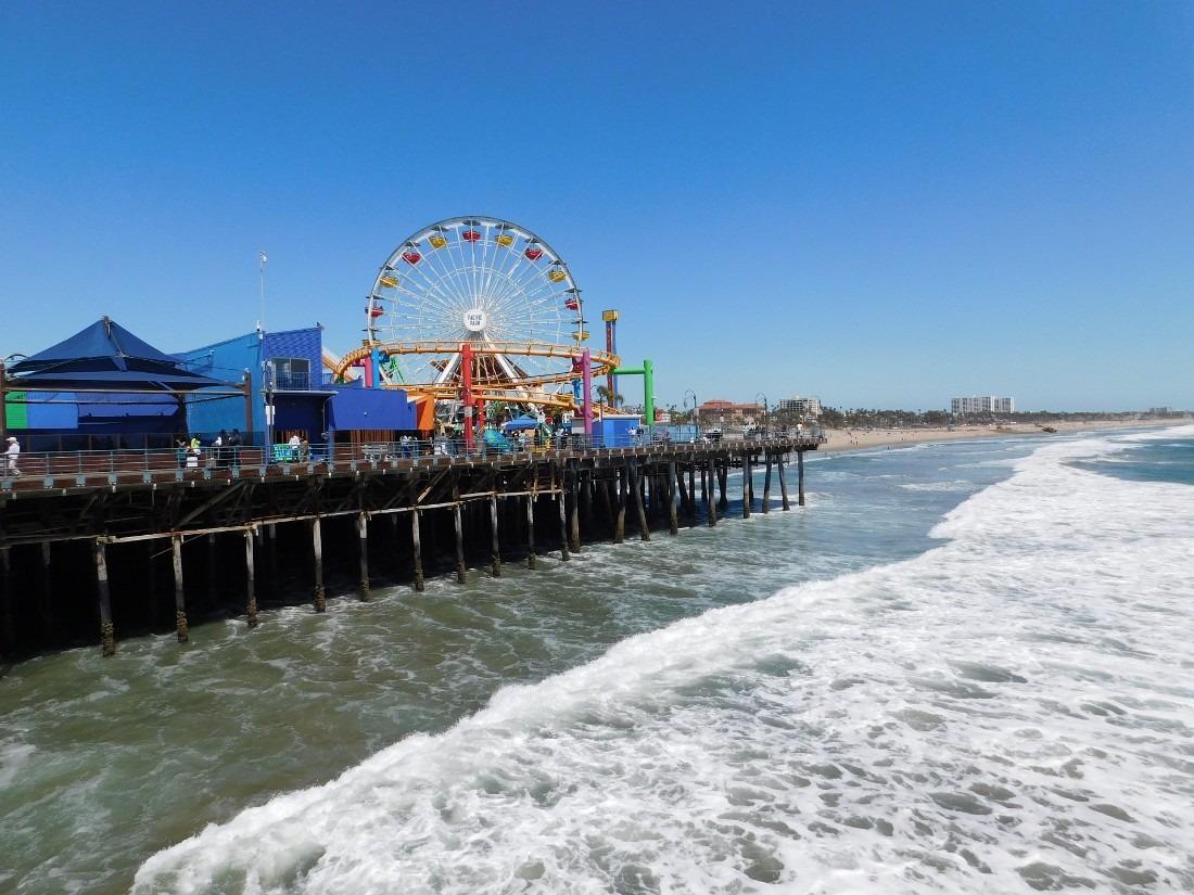 Santa Monica Pier in LA