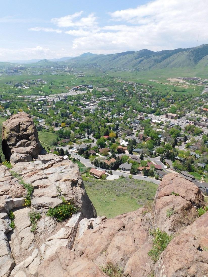 Golden, Colorado from South Table Mountain