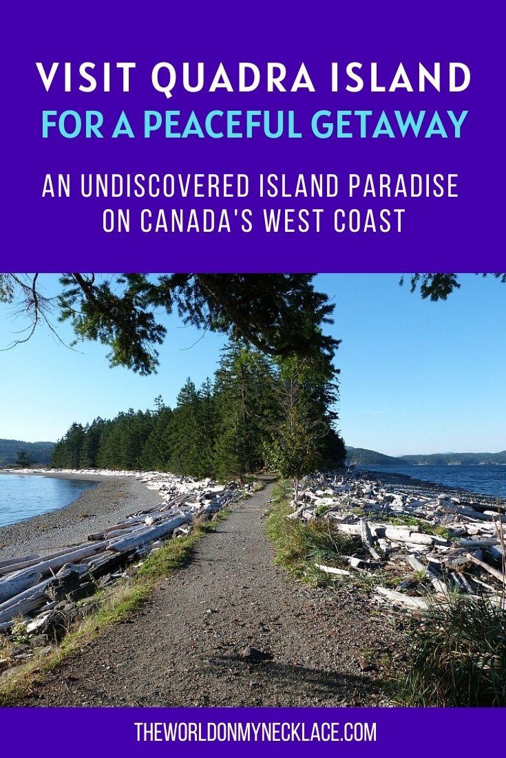 Visit Quadra Island off Canada's West Coast