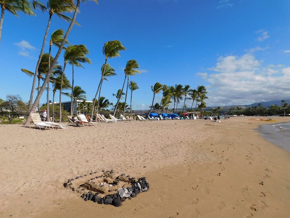 Anaehoomalu Bay is a great addition to your Big Island Itinerary