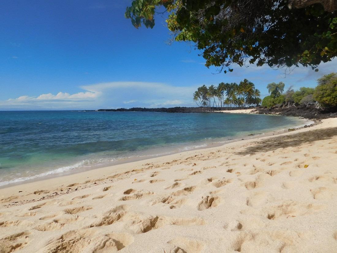 Mahai'ula beach is a Big Island secret