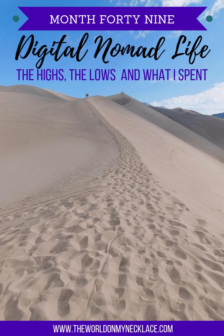 Month Forty Nine of Digital Nomad Life