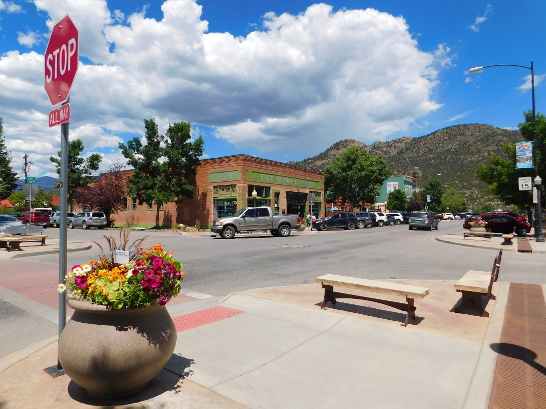 Downtown Buena Vista, one of the best Colorado Mountain Towns