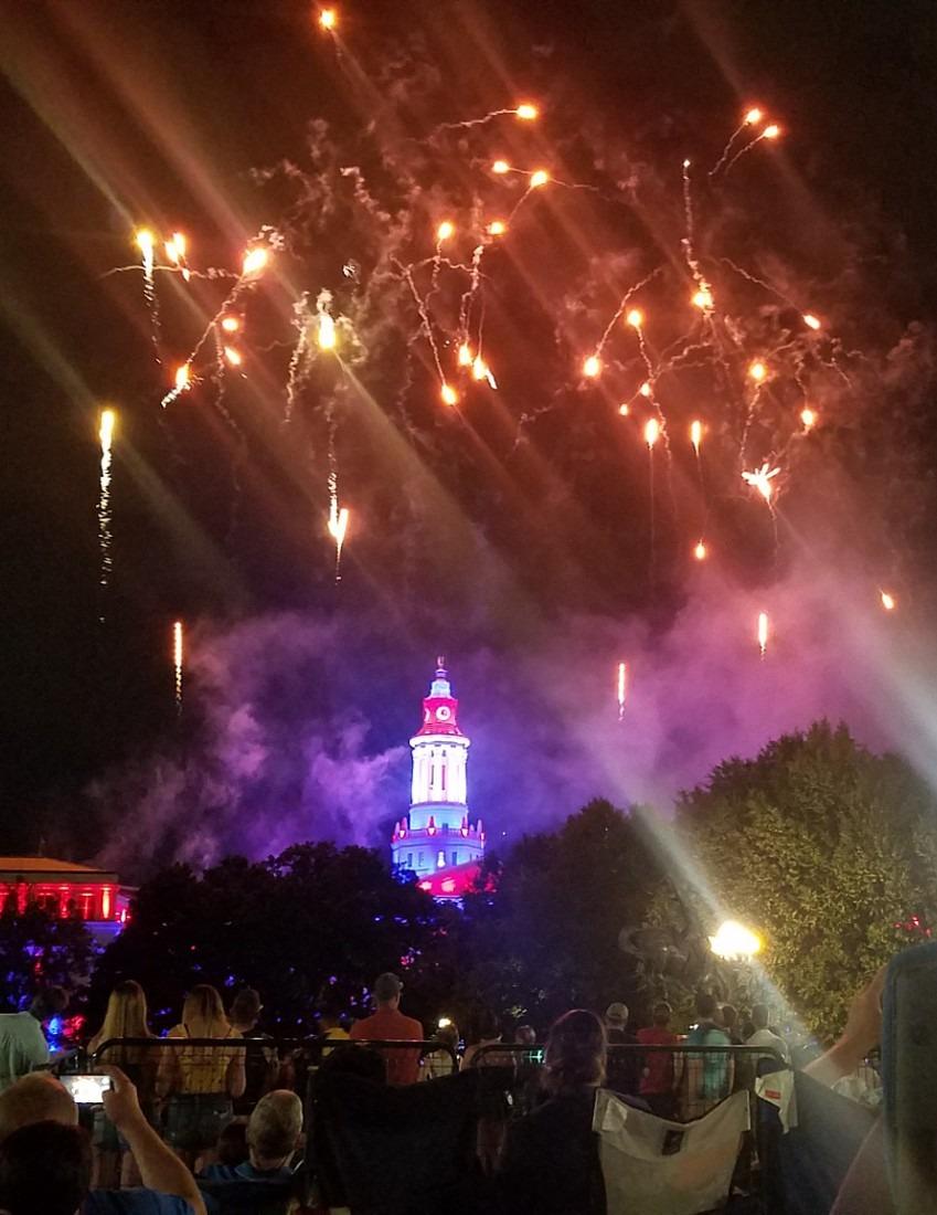 Independence Day Eve in Denver, Colorado