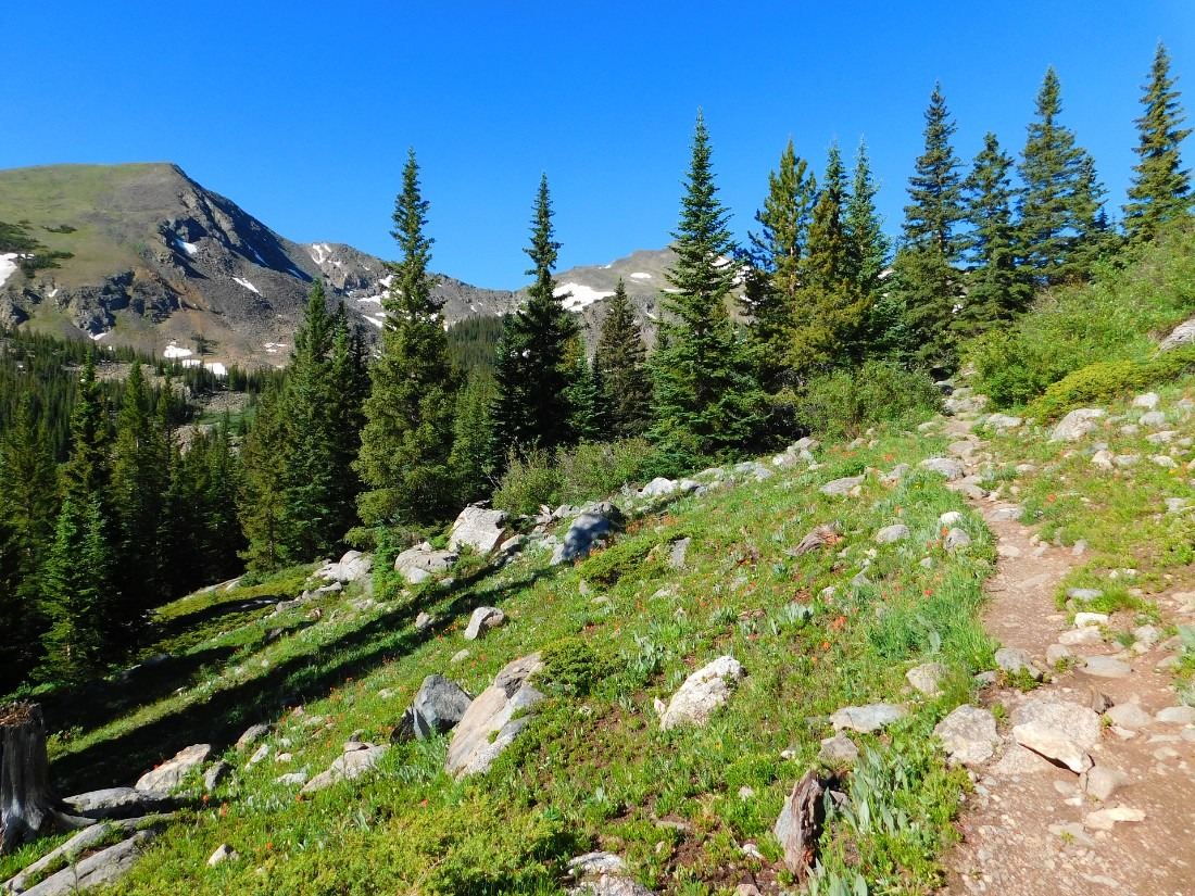 Hiking near Salida, one of the best mountain towns in Colorado