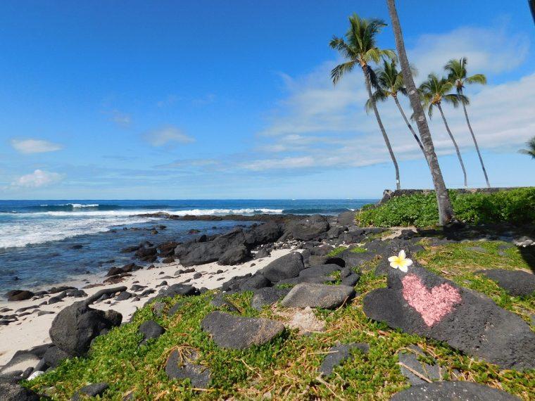 Honls Beach near Kailua Kona