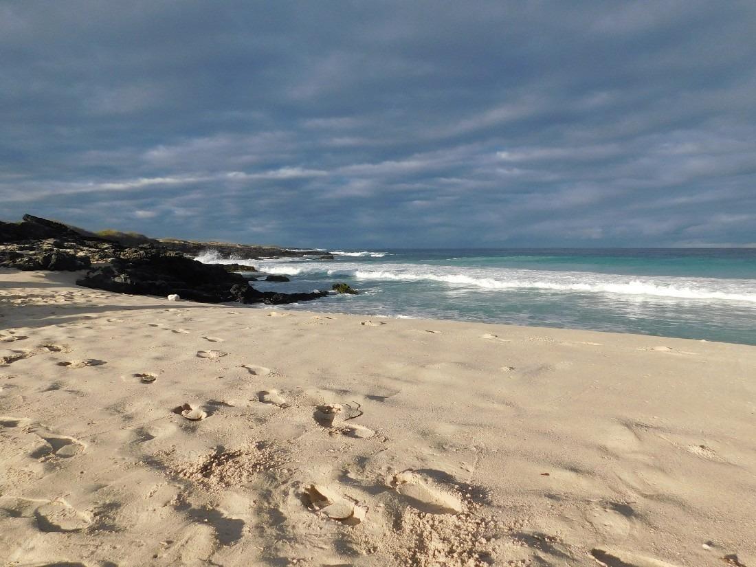 Kua Bay is a popular local beach on the Big Island of Hawaii