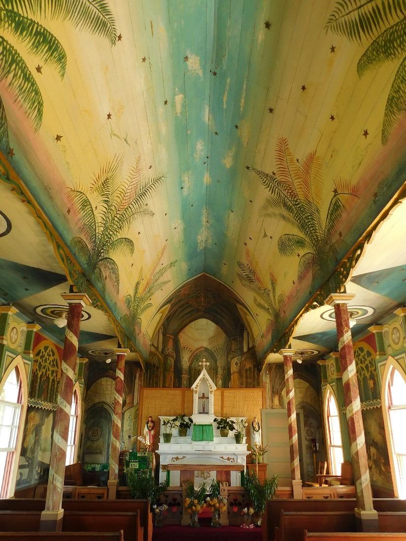 Painted Church in Honaunau, South Kona