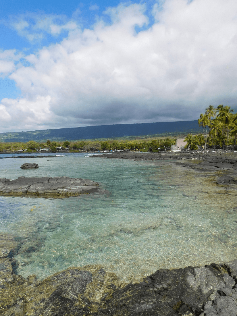 Snorkeling at Two Step - the best snorkeling on the Big Island of Hawaii