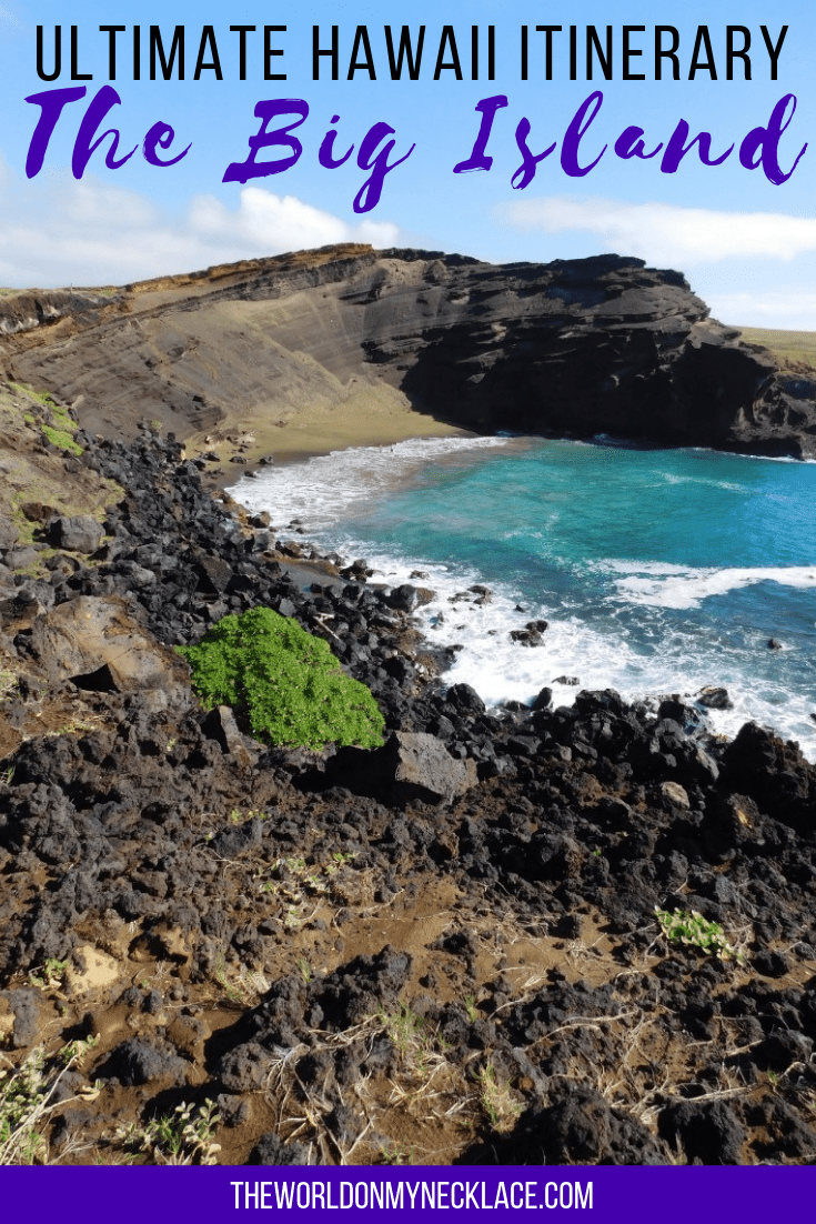 Ultimate Big Island 7 Day Itinerary