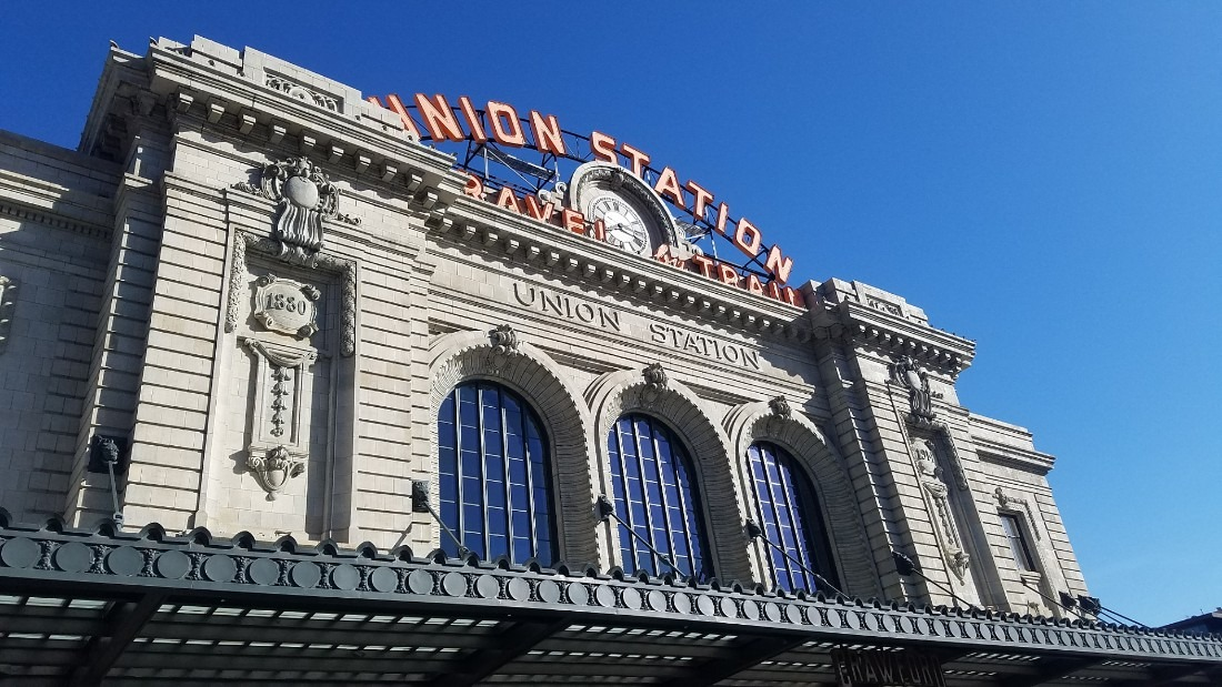 Visit Union Station during your 3 days in Denver