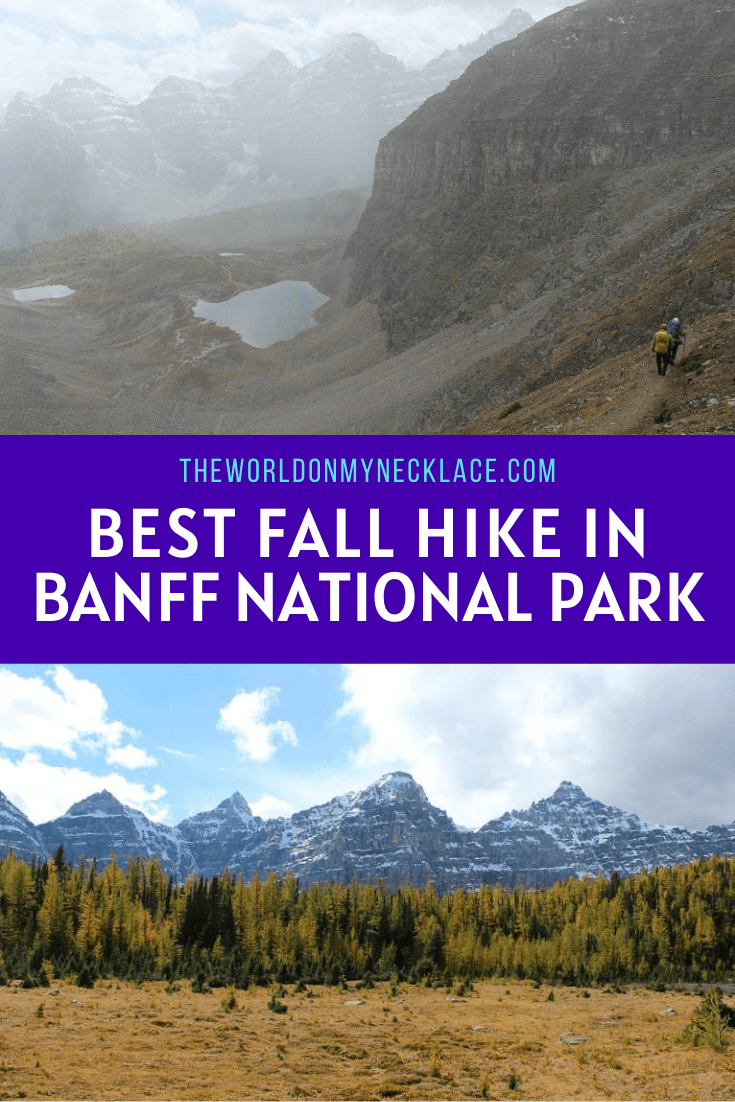 The Best Moraine Lake Hike in Fall: Larch Valley and Sentinel Pass Hike