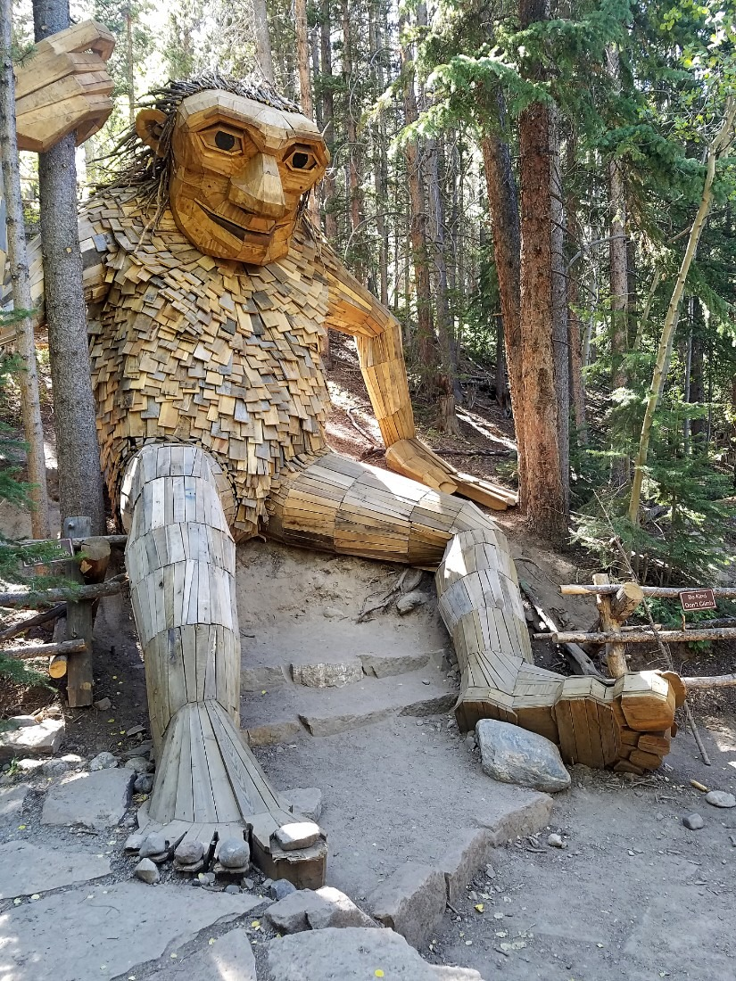 Breckenridge Troll in Breckenridge, Colorado