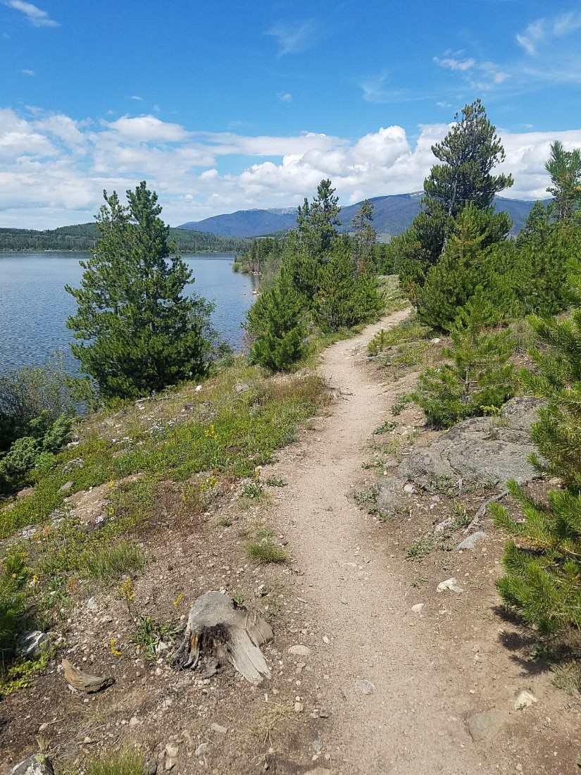 Hiking Dillon Reservoir in Colorado