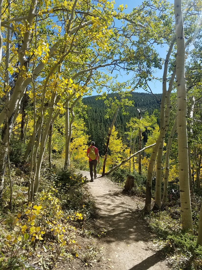 Hiking in Breckenridge, Colorado