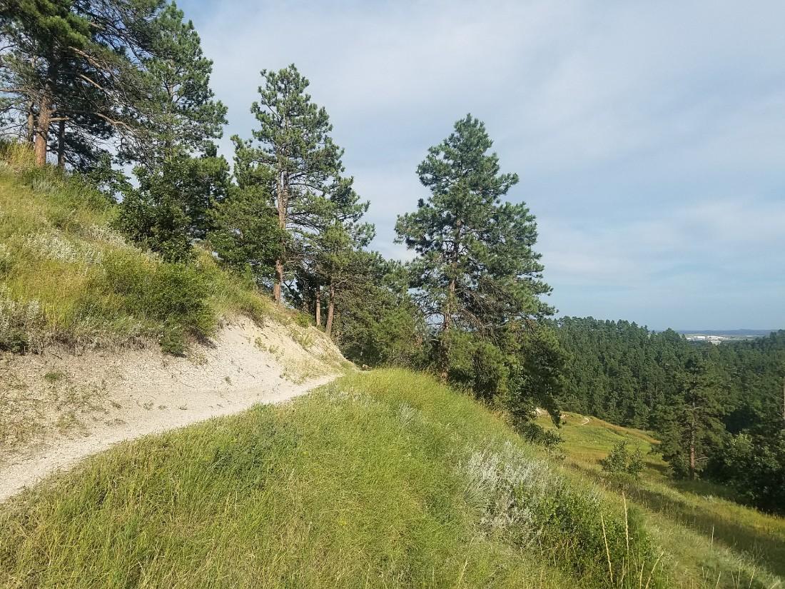 Hiking near Rapid City in South Dakota