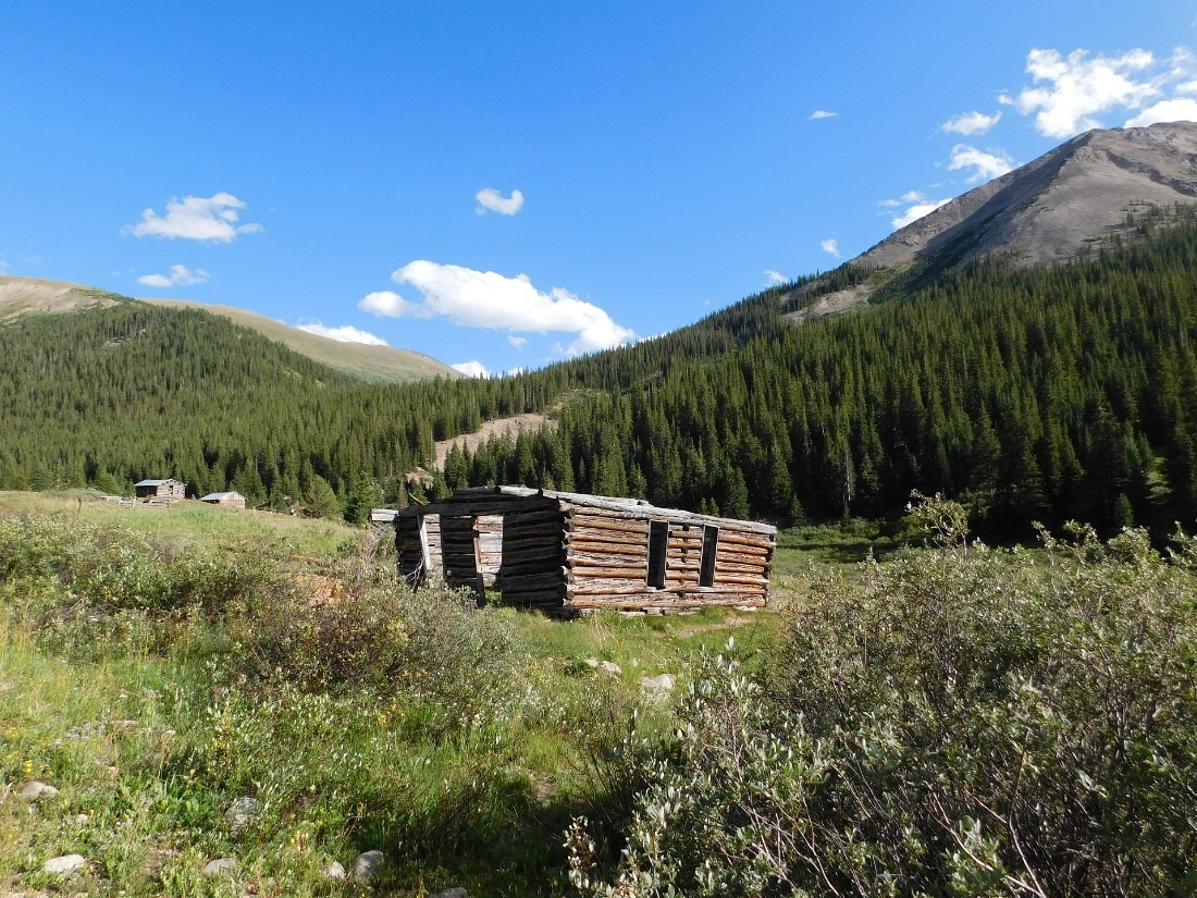 Independence Ghost Town in Colorado