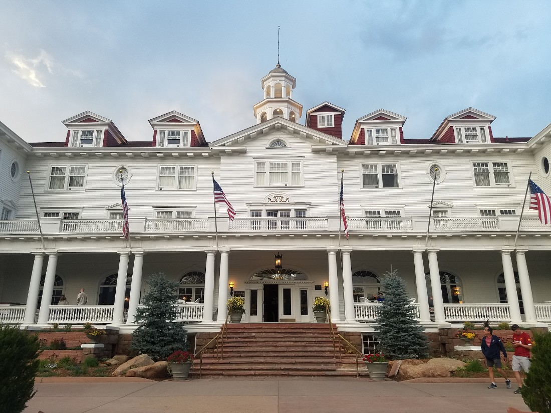 Visit the Stanley Hotel in Estes Park on a Colorado road trip
