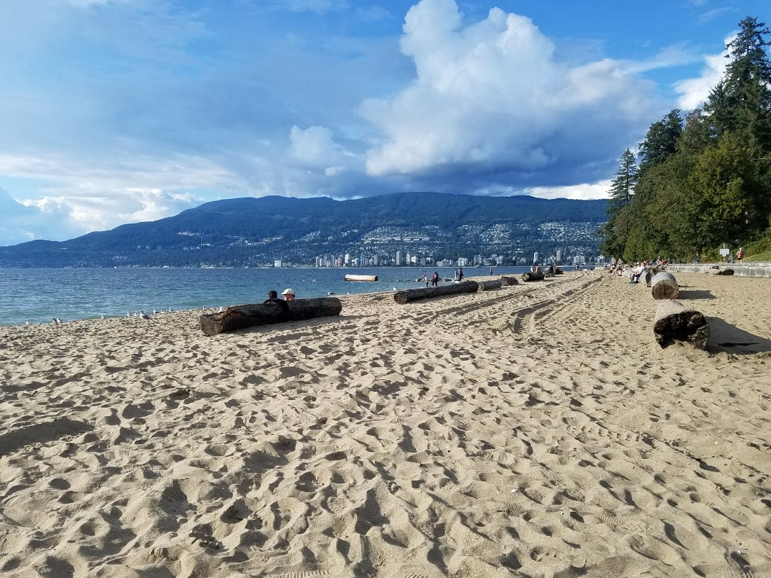 Chill out on one of Vancouver's beaches in this 4 day Vancouver Itinerary
