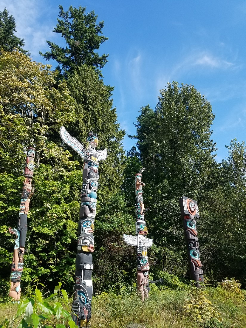 Visiting Stanley Park is a highlight of a Vancouver 4 day itinerary