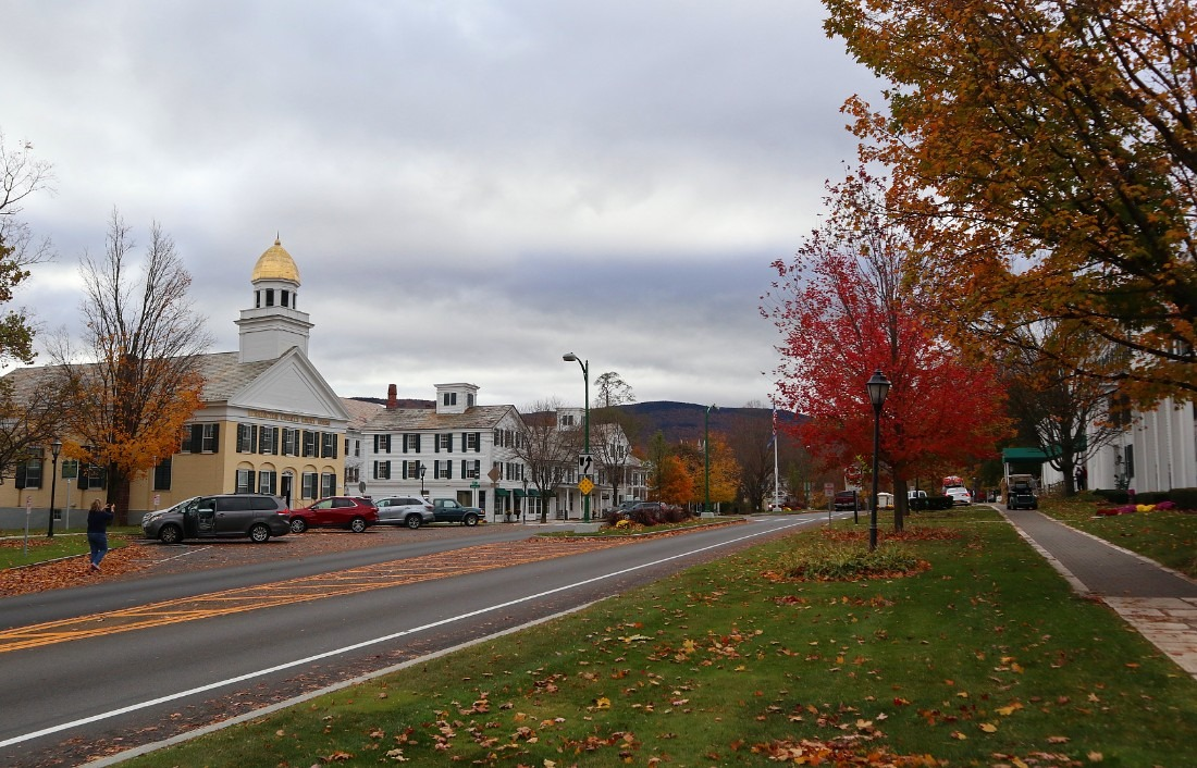 Downtown Manchester, Vermont