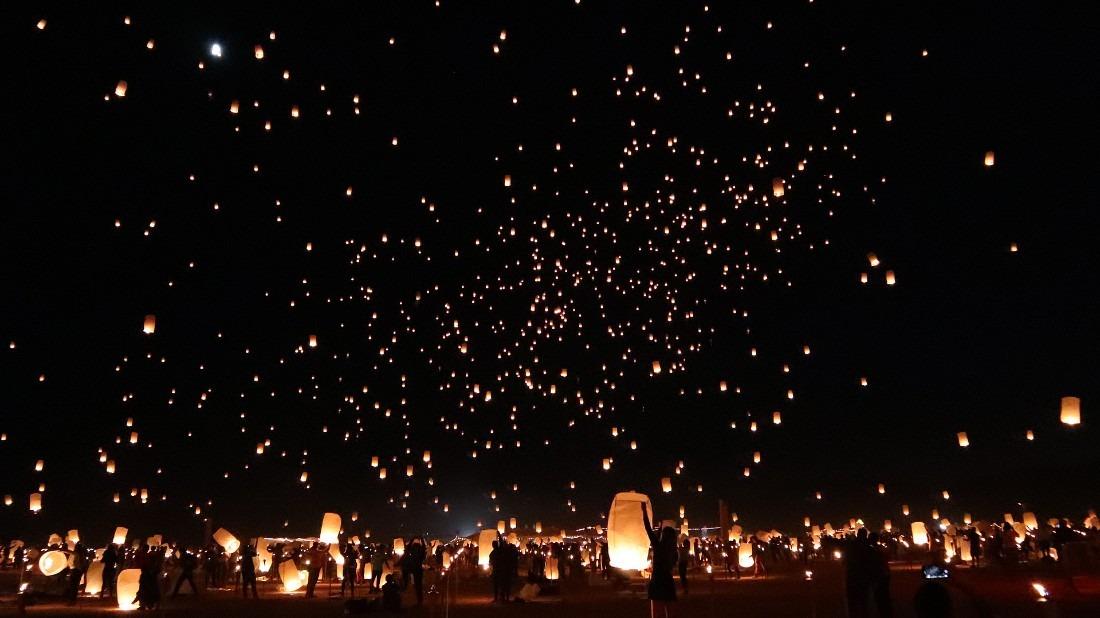 Rise Lantern Festival in Vegas