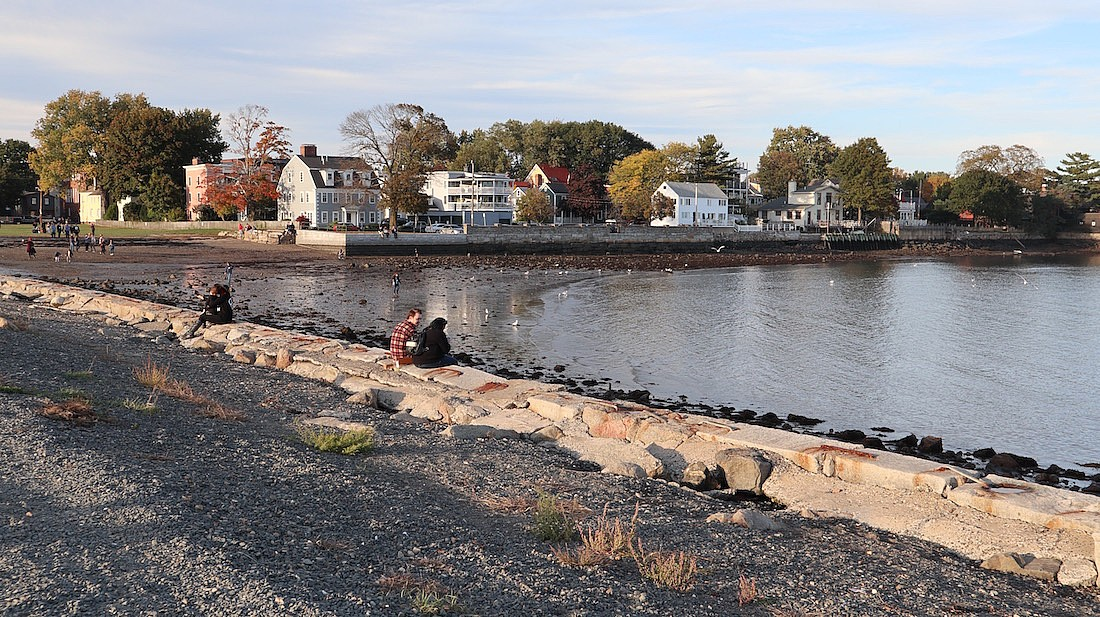 Beach in Salem - one of the best small towns in Massachusetts