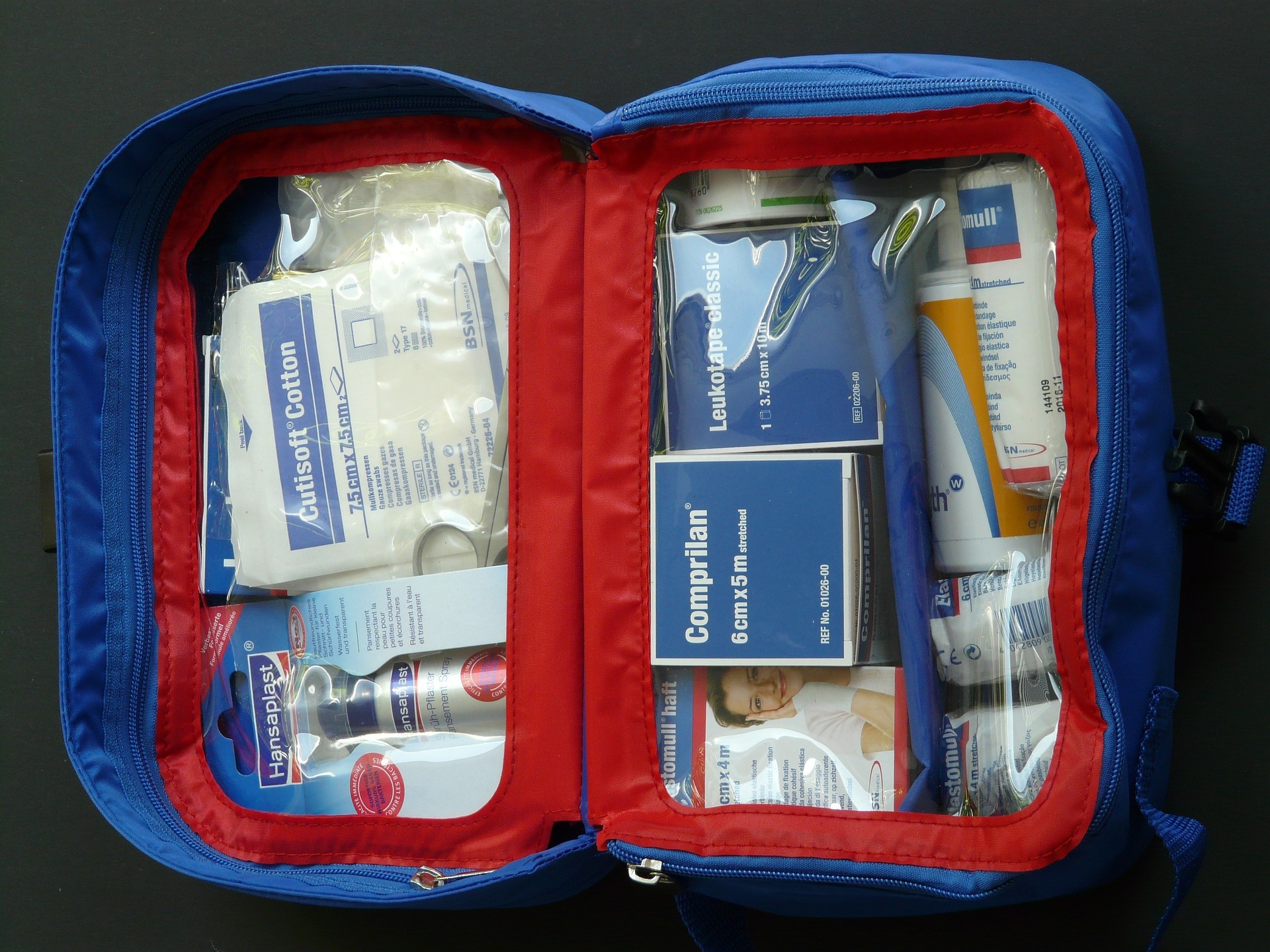 Four important things no traveler should be without - first aid kit